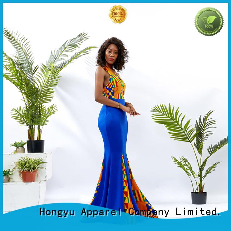 HongYu Apparel long beautiful dresses for ladies women mall