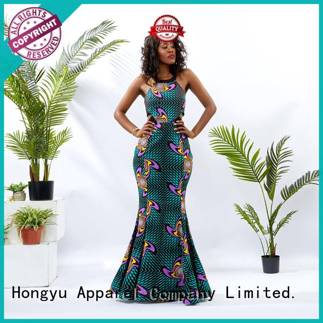 HongYu Apparel party maxi dresses off reception