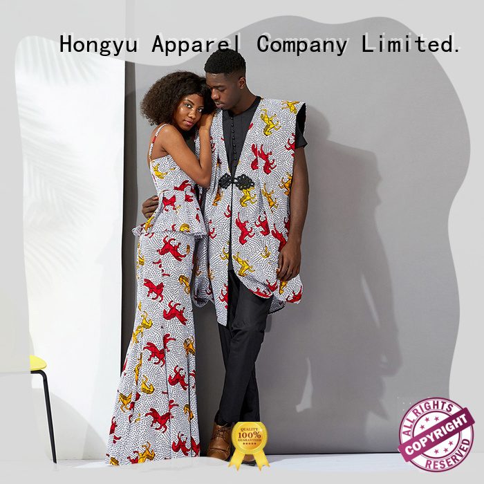 HongYu Apparel couple t shirt design wear men