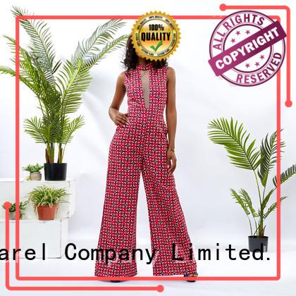 HongYu Apparel print dressy jumpsuits for women service travel