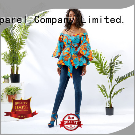 HongYu Apparel ladies tunic tops women africa