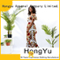HongYu Apparel trim african print dresses for ladies off reception