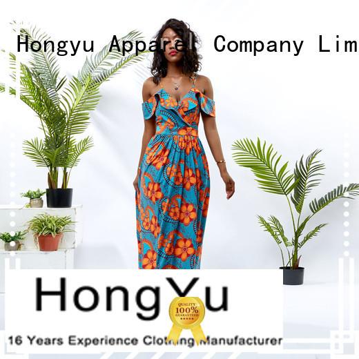 HongYu Apparel midi long bodycon dress off africa