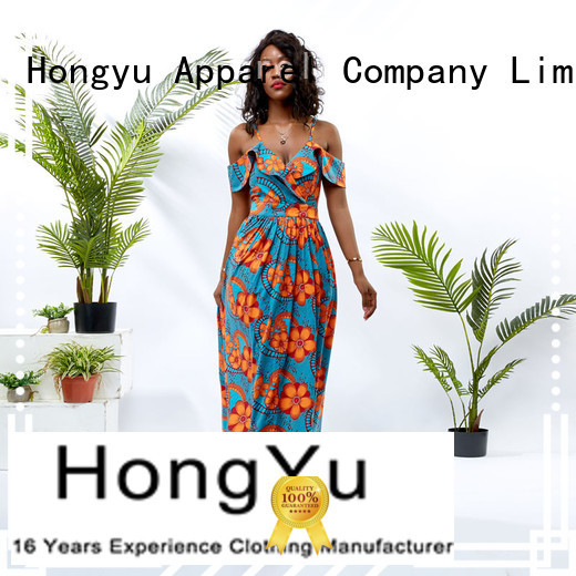 HongYu Apparel midi long bodycon dress off africa