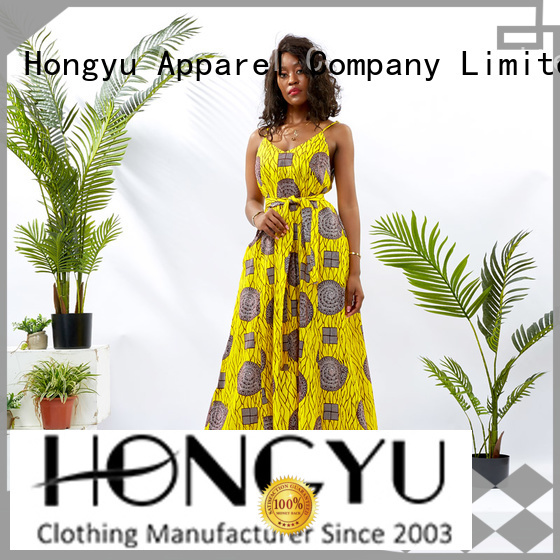 HongYu Apparel design best african print dresses mall