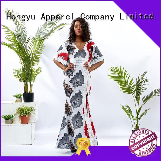 HongYu Apparel casual dress styles off mall