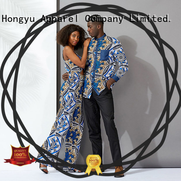 HongYu Apparel couple t shirt design wear couples
