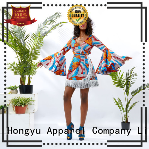 HongYu Apparel african dresses off reception