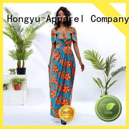 HongYu Apparel wrap african dresses africa