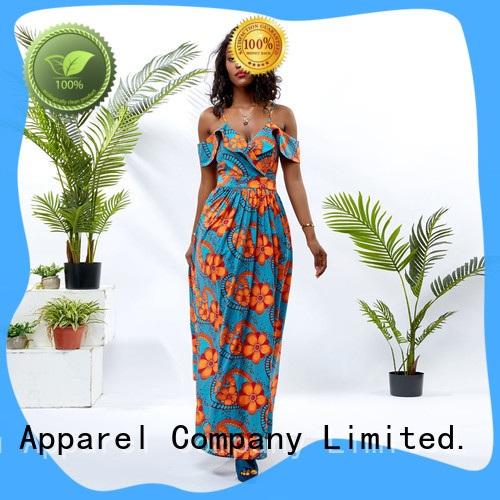 HongYu Apparel sequin beautiful african dresses shoulder africa