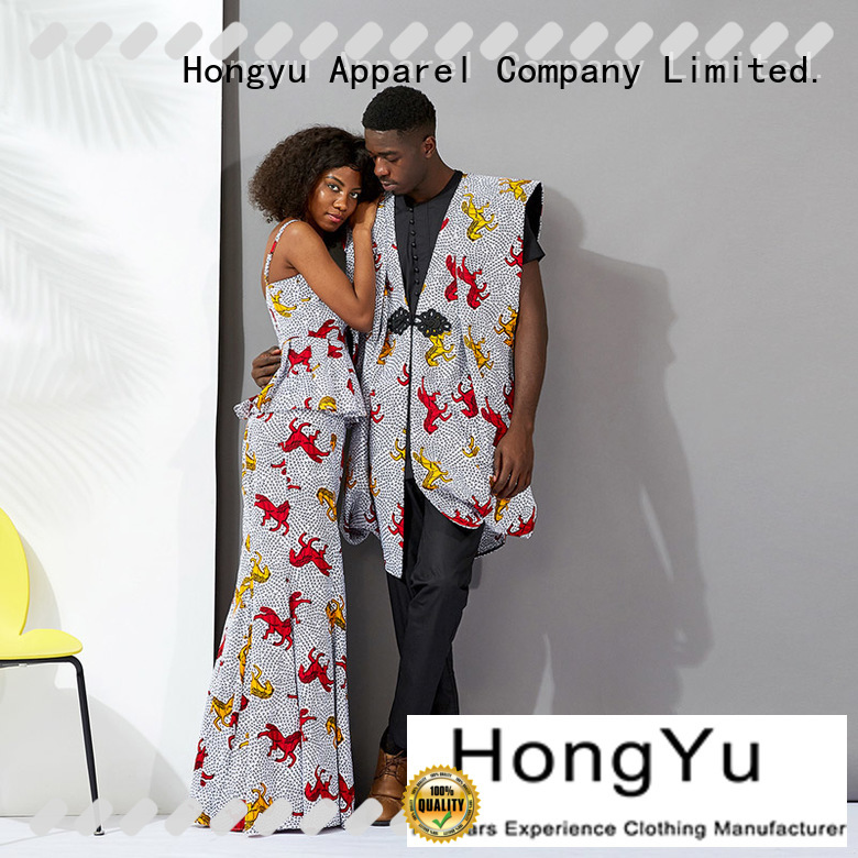 HongYu Apparel matching matching clothes for couples ladies