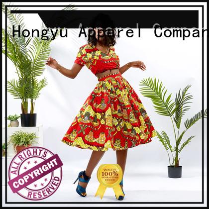 customized two piece skirt set design africa