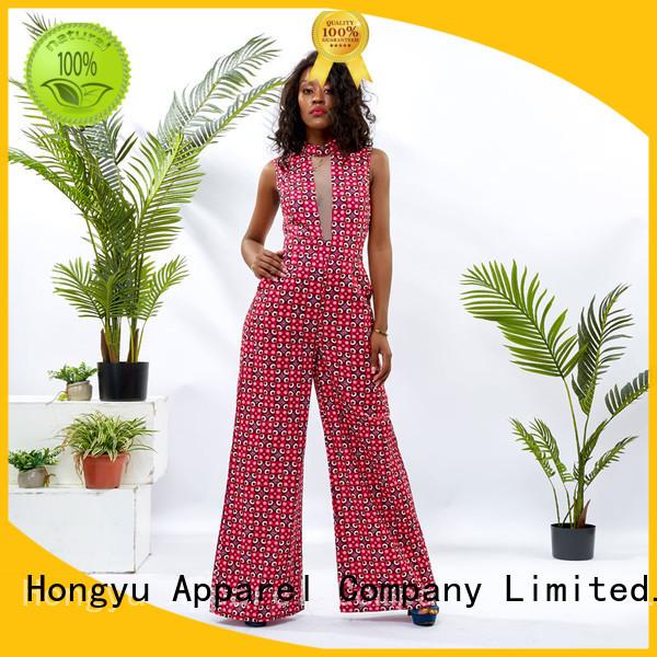 HongYu Apparel tight jumpsuit design africa