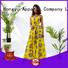 HongYu Apparel maxi wholesale dresses shoulder reception