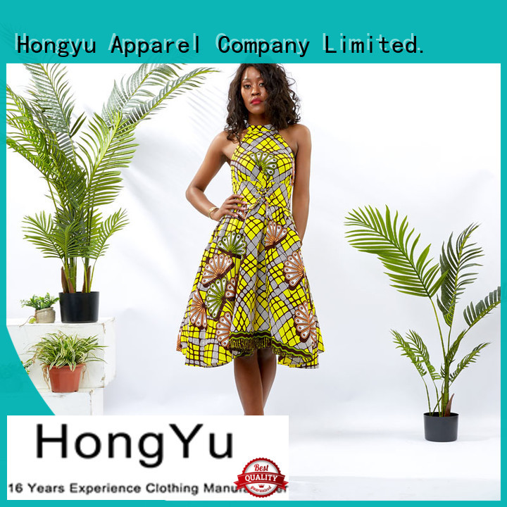 HongYu Apparel sequin african dresses for women women africa