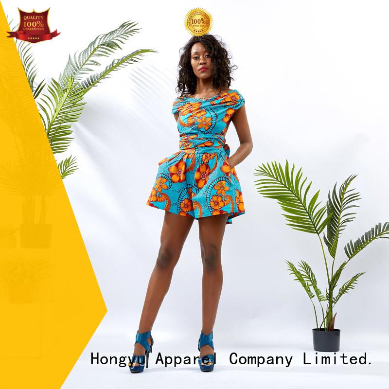 HongYu Apparel customize formal jumpsuits for women romper women