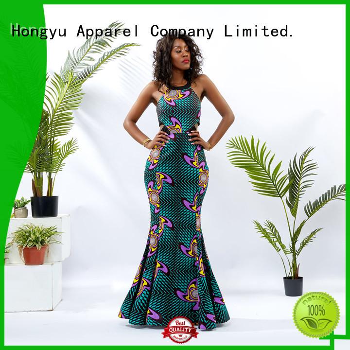 HongYu Apparel midi classic dresses off africa