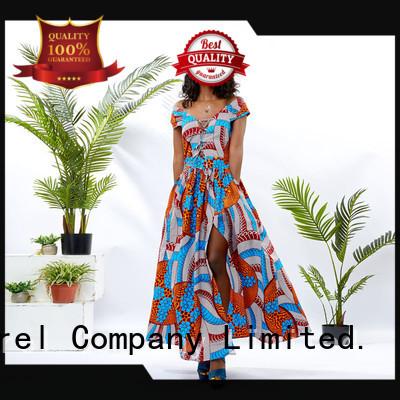 HongYu Apparel wrap trendy dresses floor mall